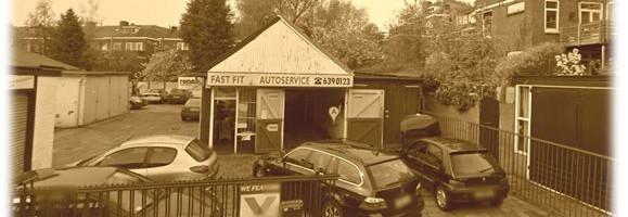 oude garage